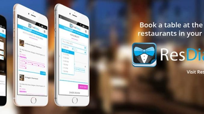 ResDiary Restaurant Reservation And Table Management Solution - Restaurant table management