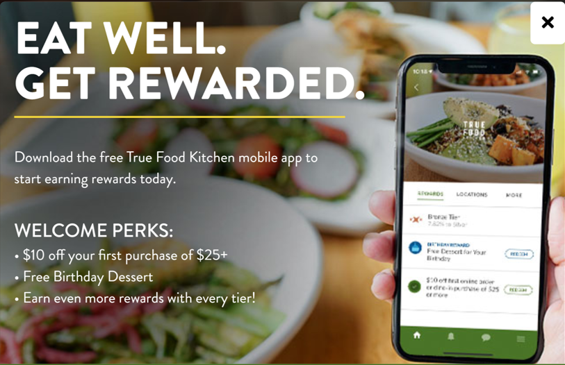 True Food Kitchen Taps Tech Partners to Launch New Loyalty