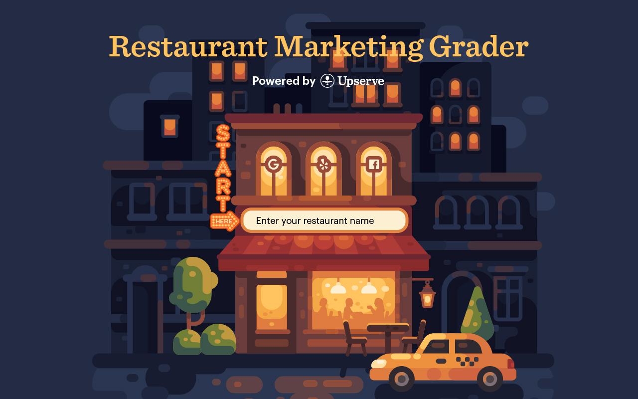 Upserve Launches Its Free Restaurant Marketing Grader Tool