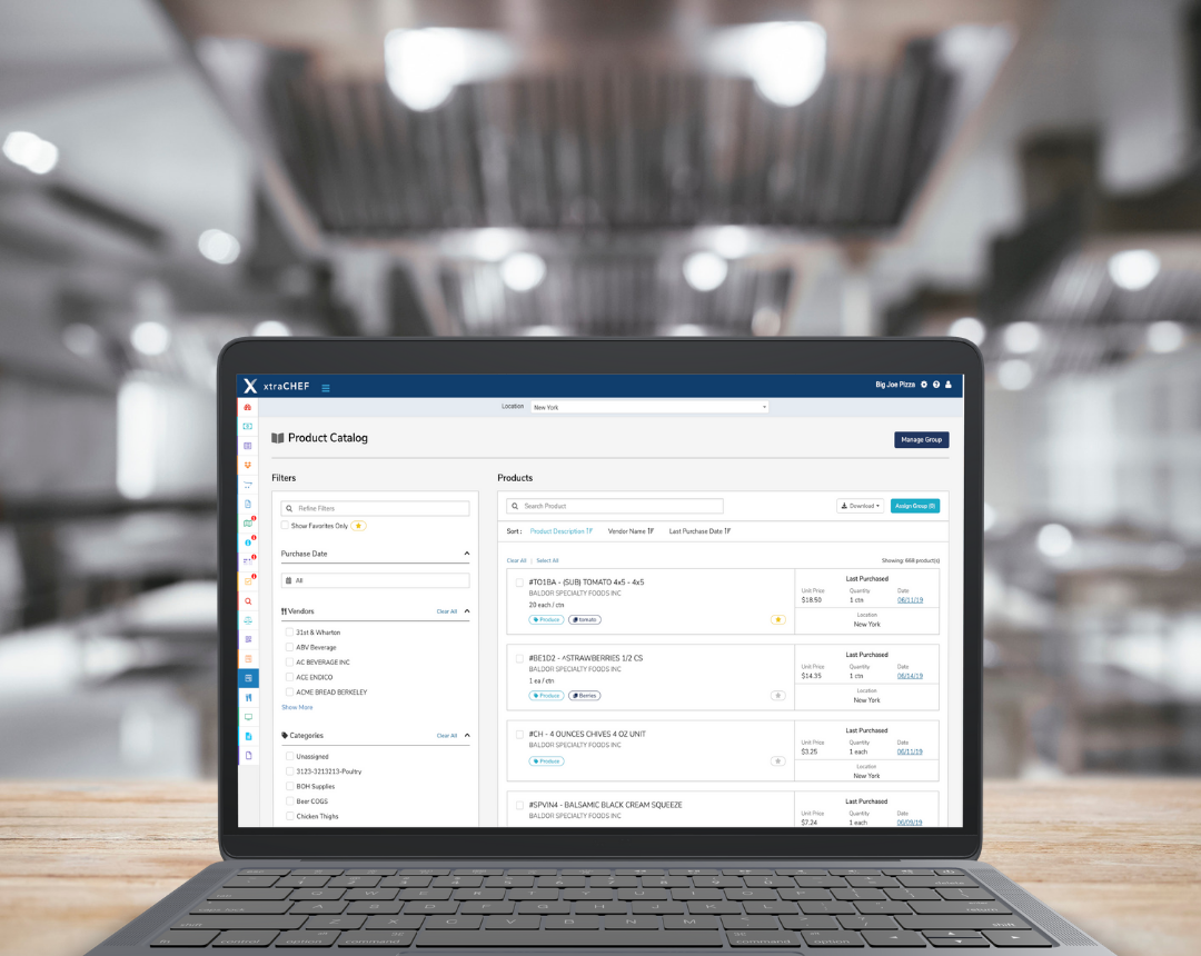 xtraCHEF Enhances Its Restaurant Management Platform With Inventory and Order Management Solutions